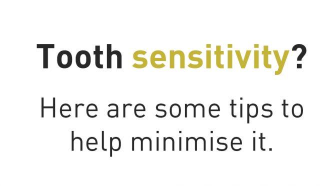 tooth sensitivity tips